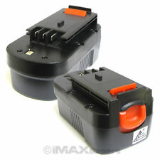 2 x 18V 2.0AH 2000mAh Ni-Cd Battery for Black & Decker Firestorm HPB18 HPB18-OPE