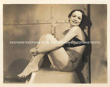 1930's REPUBLIC FILMS ACTRESS JEAN JOYCE LEGGY PINUP 8x10 PHOTO A-JJOY