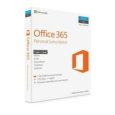 Microsoft Office 365 Personal Subscription 1Yr for 1PC/MAC + 1 Tablet