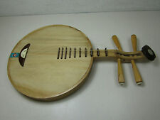Music Antique Chinese String Instrument Wooden Yueqin Yueh-chin Moon Guitar