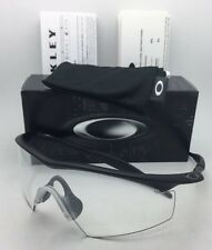 New OAKLEY BALLISTIC M-FRAME Safety glasses 11-161 Black w/Clear ANSI Z87.1 Lens