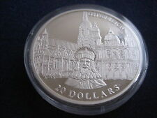"""MDS LIBERIA 20 DOLLARS 2001 PP / PROOF """"ÖSTERREICH"""", SILBER #30"""