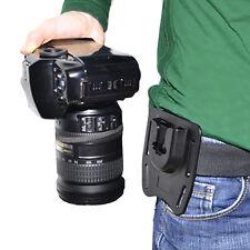 Waist Belt Holster Quick Strap Buckle Hanger For DSLR Digital Capture Camera