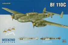 Eduard 1/72 Model Kit 7426 Messerschmitt Bf 110C Weekend Edition