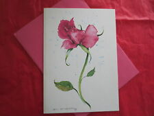 Vintage Greeting Cards  VALENTINE DAY OR ANY TIME VINTAGE card W/message