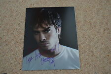 IAN SOMERHALDER signed Autogramm 20x25 cm In Person VAMPIRE DIARIES