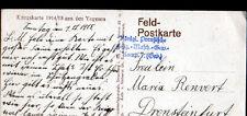 SAINTE-MARIE-aux-MINES (68) MILITAIRES ALLEMANDS à l'HOTEL / CAMP N°7 en 1915