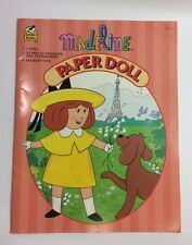 Madeline By Bemelmans Paper Dolls Book 1996 Uncut Golden Books 33 Fashions