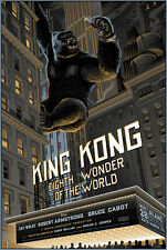 Laurent Durieux King Kong Rooftop Screenprint Poster Edition of only 275
