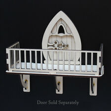 FAIRY BALCONY Fairy Door Accessory Wooden Craft Kit easy assemble