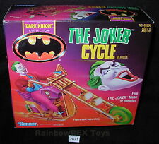 THE JOKER CYCLE VEHICLE 1990 The Dark Knight Collection Kenner MINT IN BOX #2