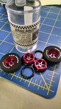 Pro Track N402I Red Pro Stars 1 3/16x300 Rear & Front Drag Tires Mid America