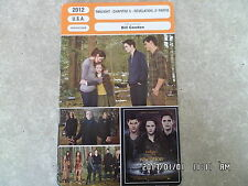 CARTE FICHE CINEMA 2012 TWILIGHT CHAP 5 REVELATION 2e PARTIE Kristen Stewart
