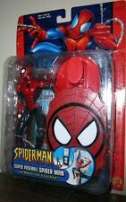 Super Poseable Spiderman Magnetic Leap N Stick
