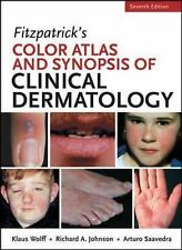 Free Ship-Fitzpatrick's Color Atlas Synopsis & Clinical Dermatology by Wolff 7ed