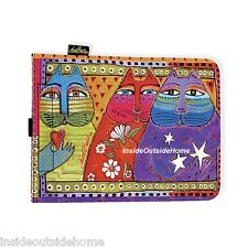 Laurel Burch Cat Three Wishes Stars Flower Heart Case Cover iPad Tablet eReader