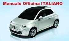 Nuova FIAT 500 Cinquecento (2007/ 2014) Manuale Officina su cd ITALIANO