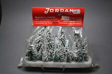 V749 Jordan Ho train decor lot sapin neige 35 à 100 mm +15 u années 70 Diorama
