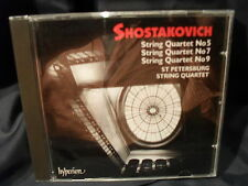 Shostakovich - String Quartet No.5, 7 & 9  -St. Petersburg String Quartet