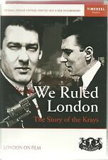 THE STORY OF THE KRAYS - WE RULED LONDON DVD NARRATED BY CLIVE PETERSON