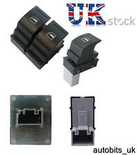 ELECTRIC WINDOW SWITCH DRIVER & PASSENGER FOR VW GOLF MK5 CADDY PASSAT JETTA EOS