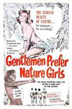 Gentlemen Prefer Nature Girls Poster 01 Metal Sign A4 12x8 Aluminium