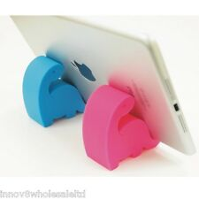 Pink silicone smart phone Desktop stand Holder For mobile iPhone