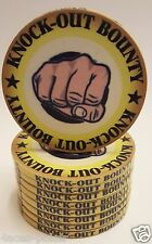 Poker 10x   KNOCK OUT Pokerkoffer Chips Pokerchips Clay Cash Game