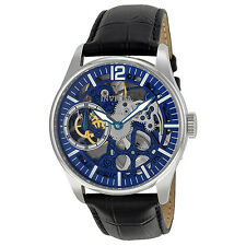 Invicta Vintage Mechanical Hand Wind Blue Skelton Dial Mens Watch 12404