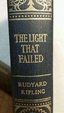 """The Light That Failed"" by Rudyard Kipling Hardcover Vintage Antique Book 1899"