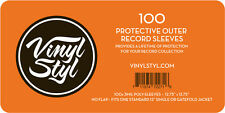 Vinyl Styl 12.75x12.75 3mil Poly Slv 100ct Vsp006 Bag/Sleeve