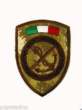 Patch Arditi Incursori COMSUBIN Marina Militare Mimetica Vegetata Desert Scudet