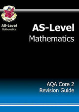AS-Level Maths AQA Core 2 Revision Guide by CGP Books (Paperback, 2004)