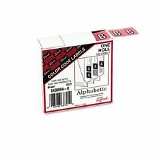 Smead Manufacturing 66721 Color Code Label 500 Ct. Letter B