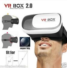 3D VR BOX 2.0 - VR Virtual Reality Glasses Headset 3D for Smart Phones.HQ