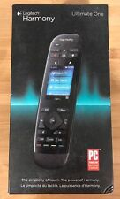 NEW Logitech Harmony Ultimate One Universal Remote Control Black (Sealed)