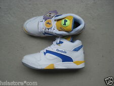 Reebok Court victory Pump 47 White/ion Blue/Yellow Jet
