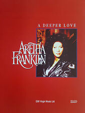 Aretha Franklin: A Deeper Love (Sheet Music) - OUT OF PRINT, MINT CONDITION!