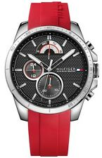 Tommy Hilfiger Cool Sport Silicone Chronograph Mens Watch 1791351