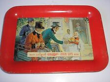 "VINTAGE MILLER BEER TIP TRAY, GOOD COND. (6 1/2"" X 4 1/2"")"