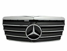 W124 1993-1996 Facelifted Calandre 5FIN CHROME/BLACK for Mercedes-Benz