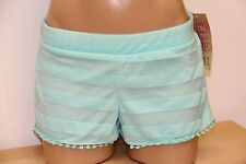 New Miken Swim Swimsuit Bikini Cover Up Shorts Malibu Size L