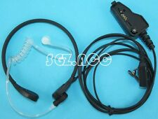 FBI Headset Earpiece Throat MIC for KENWOOD TK-280 TK-380 TK-290 TK-390 Radio