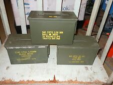ONE - 50CAL M2A1 MILITARY SURPLUS AMMO CAN Nice Condition
