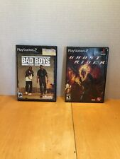 Bad Boys Miami Takedown & Ghost Rider PS2 PlayStation Game Lot