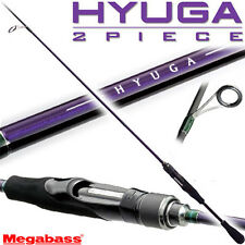 "Megabass HYUGA 69-2L-S Light 6'9"" bass fishing spinning rod pole from Japan"
