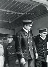 Photo 5x7: RMS Titanic - Only Known View Of Lightoller & Murdock On Ship, 1912
