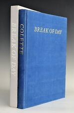 Limited Editions Club Break Of Day Colette Francoise Gilot LEC Signed Illustrate