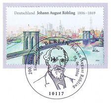 BRD 2006: Johann August Röbling Nr. 2544 mit Berliner Ersttagsstempel! 1A! 1607
