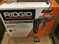 RIDGID HYPERDRIVE 18-Volt Brushless 16-Gauge 2-1/2 in. Straight Nailer Tool WOW!